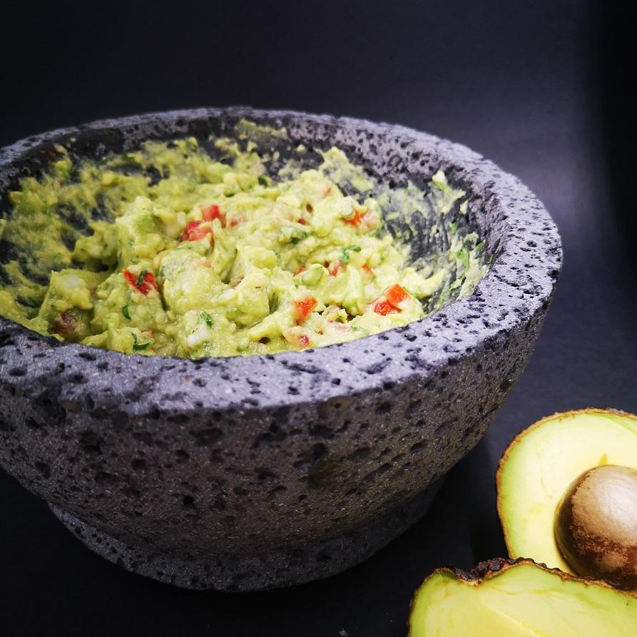 Guacamole elaborado en el restaurante Sed de México. Foto cedida por el establecimiento