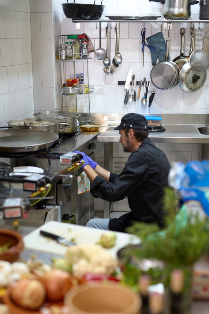 Paella e Hijos estrenará carta de arroces caldosos después de verano. Foto cedida por el establecimiento