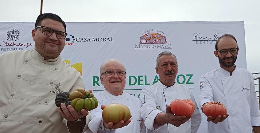 Los restaurantes de la ruta del arroz de Los Palacios saludan la nueva cosecha de los tomates con unas jornadas gastronómicas