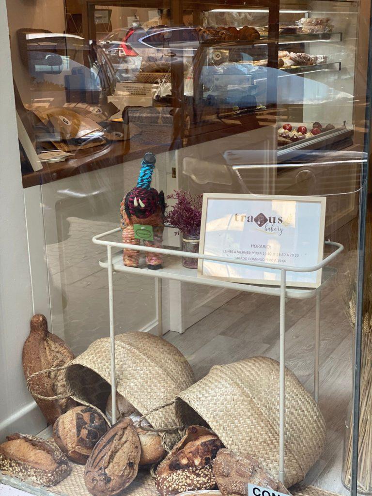 Panes y salados, protagonistas del nuevo establecimiento. Foto cedida por Tragus