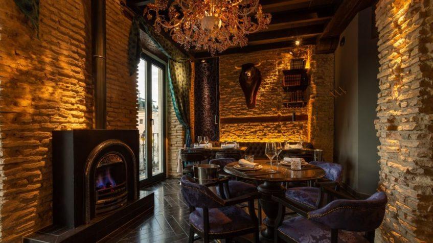 Uno de los espacios interiores de la Casa de María. Foto cedida por el establecimiento