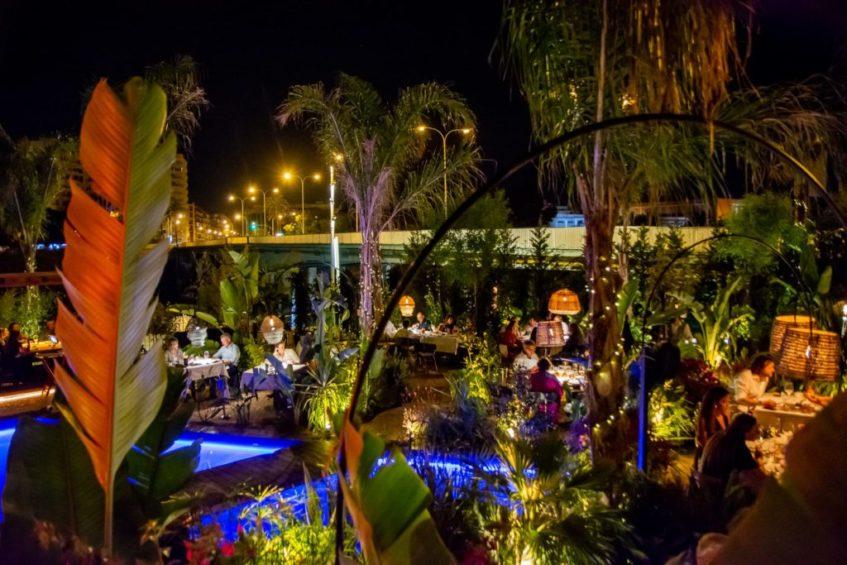Maquiavelo articula sus espacios entorno a un lago central. Foto cedida por el establecimiento