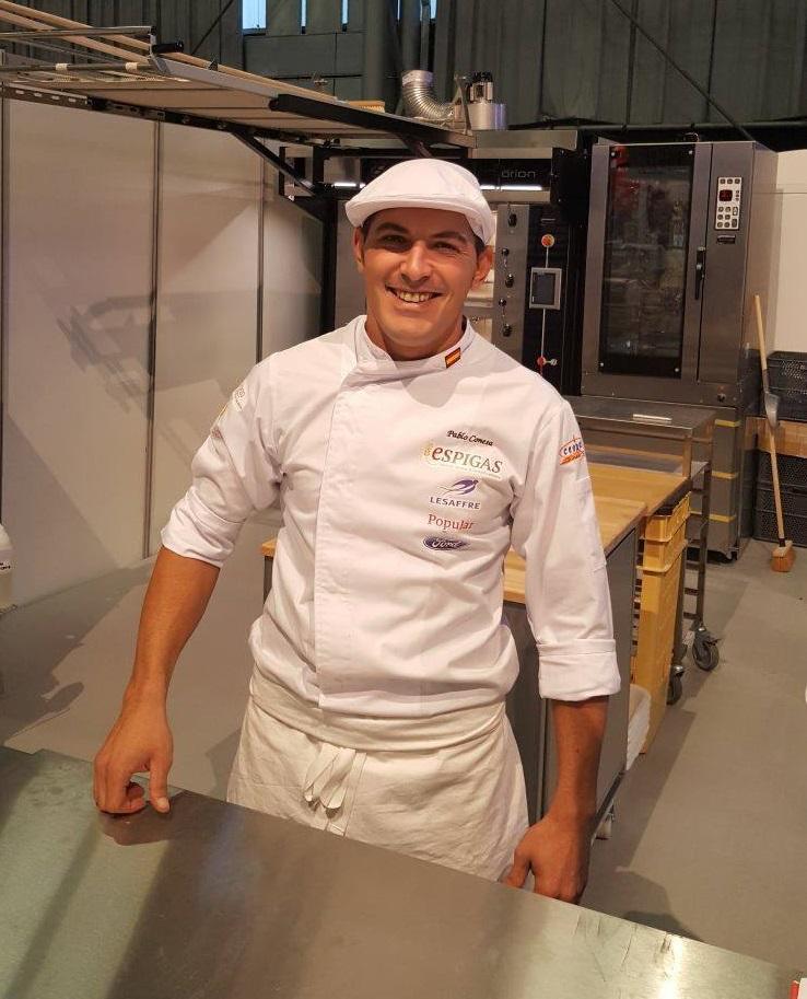 El maestro pastelero Pablo Conesa lleva diez años a la vanguardia del pan artesano. Foto cedida por el establecimiento