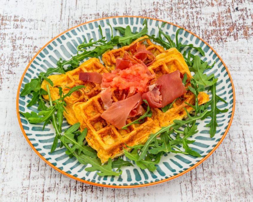 El establecimiento cuenta con una carta de desayunos y meriendas que incluyen los gofres saludables. Foto cedida por el establecimiento