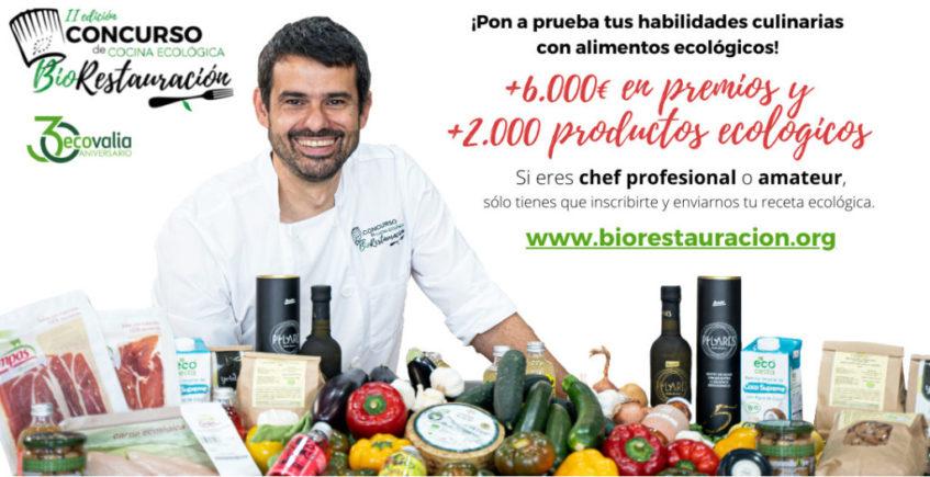En marcha la segunda edición del concurso de cocina ecológica BioRestauración