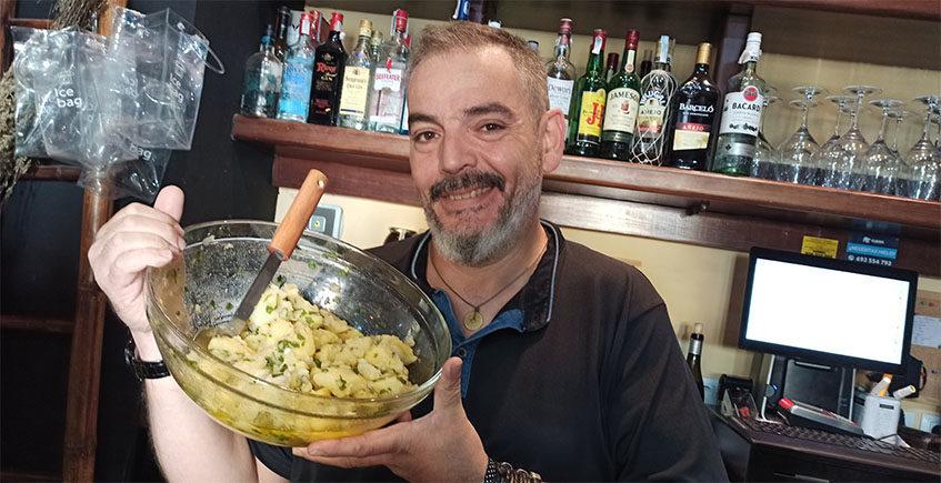 Victor Gamero, el cocinero que guisa sin fuego