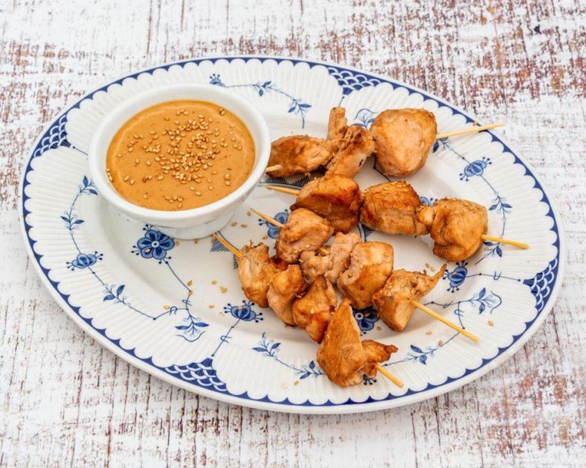 El pollo en distintas versiones, siempre bajo en calorías, también es protagonista de la carta de este nuevo local. Foto cedida por el establecimiento