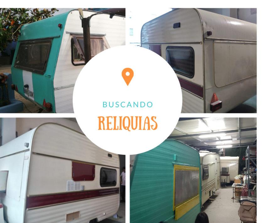 Algunas de las caravanas restauradas por Ibéricos on the road. Foto cedida por el establecimiento