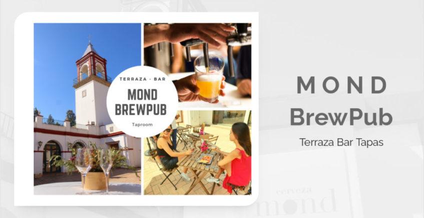 Cervezas Mond estrena terraza junto a su fábrica de La Rinconada