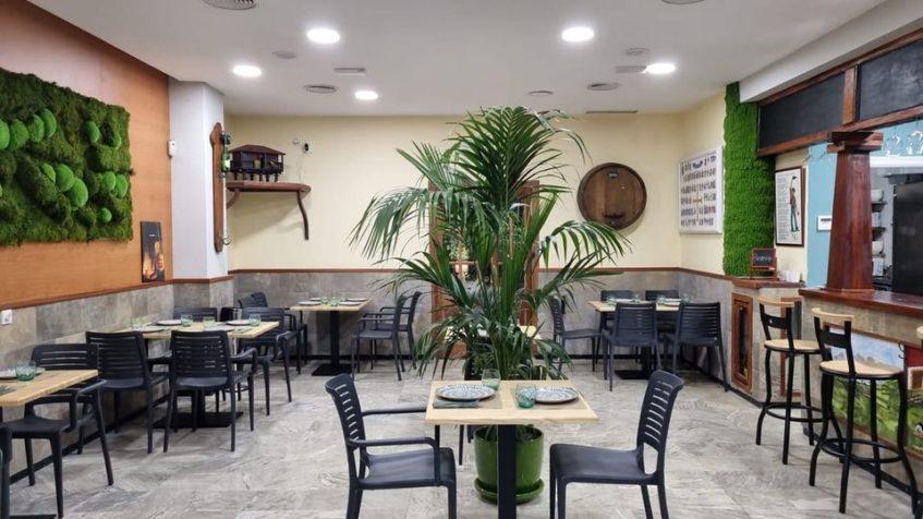 Nuevas instalaciones del establecimiento con reminiscencias asturianas. Foto cedida por Bodegón Asturiano