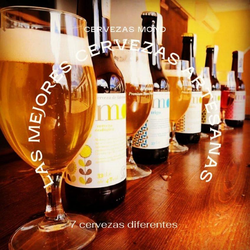 En este espacio pueden degustarse todas las variedades de cervezas de la fábrica. Foto cedida por el establecimiento