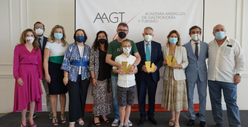 Andoni Luis Aduriz, Turismo Andaluz y Lourdes Muñoz, premiados por la Academia Andaluza de Gastronomía y Turismo
