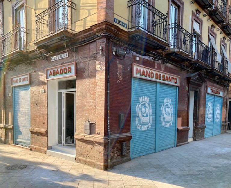 Nueva ubicación de Mano de Santo, entre las calles Castilla y Chapina. Foto cedida por el establecimiento