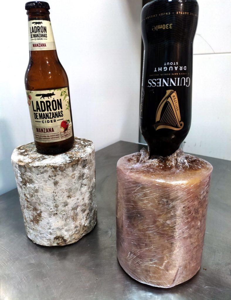 Cheddar infiltrado con cerveza. Foto cedida por el establecimiento