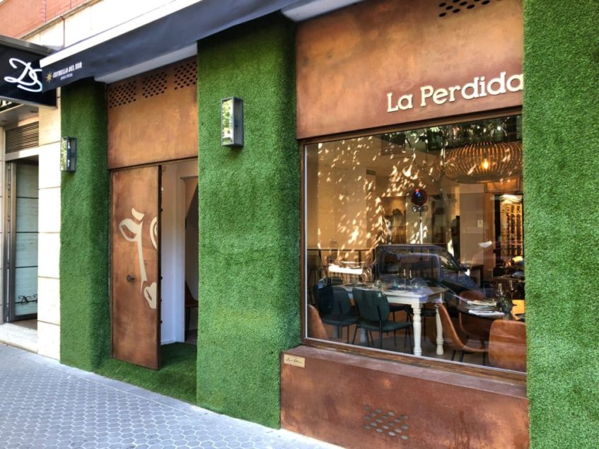Fachada de la Perdida en Sevilla, sita en la calle Baltasar Gracián número 5. Foto: CosasDeComé