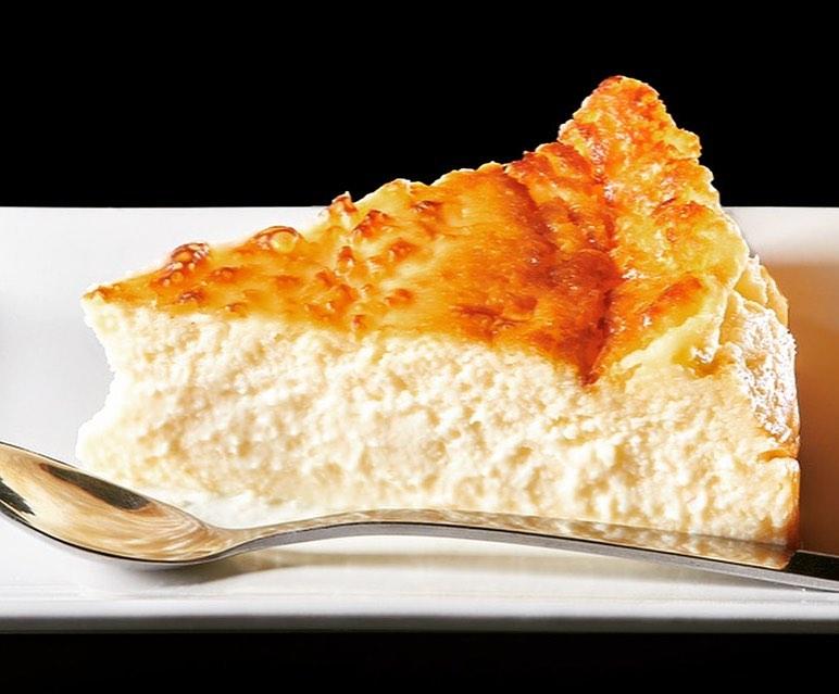 La tarta de queso sigue una receta familiar de Pilar Molina. Foto cedida por el establecimiento