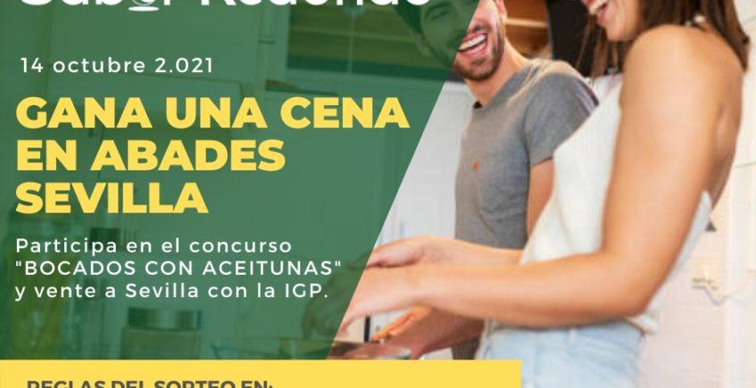 cartel Bocado con Aceitunas - Premios Sabor Redondo agosto 21