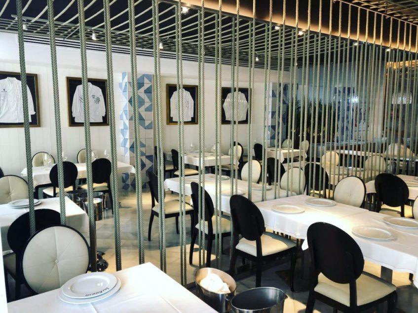 El nuevo espacio cuenta con doce mesas en las que se servirán guisos y pescados a la sal. Foto cedida por el establecimiento