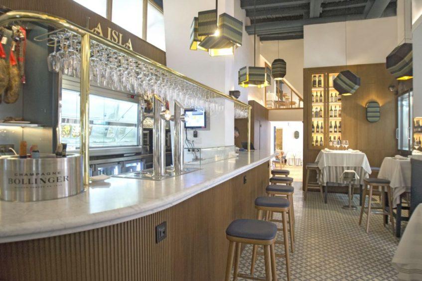 El interior del restaurante ha sido remodelado y actualizado. Foto cedida por el establecimiento