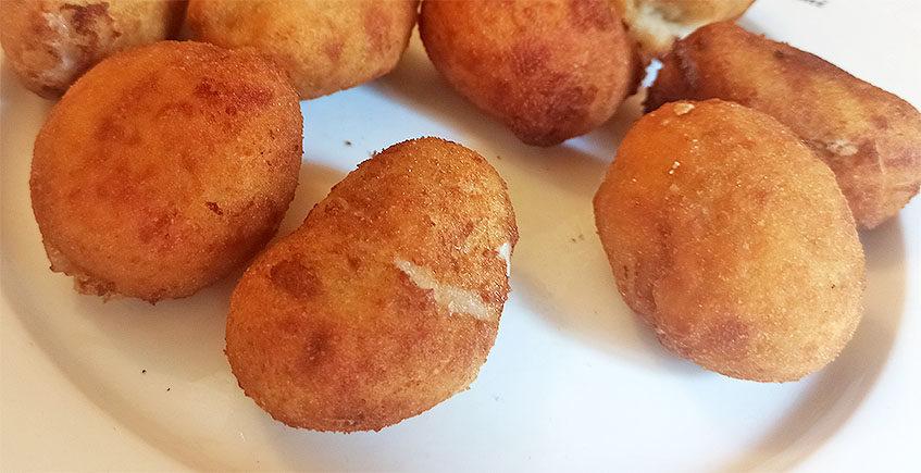 Las croquetas de torta del Casar del Mesón Casa Paco