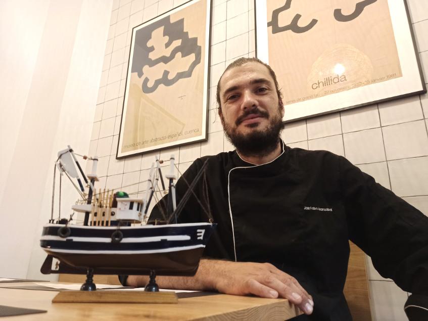 Javier Fabo desarrolla en Amara una cocina de base vasca pero con muchas otras influencias. Foto: CosasDeComé