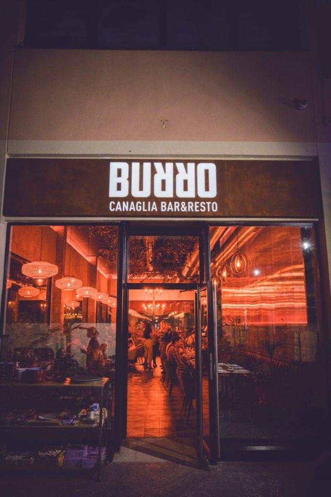 Interior del nuevo Burro Canaglia. Foto cedida por el establecimiento