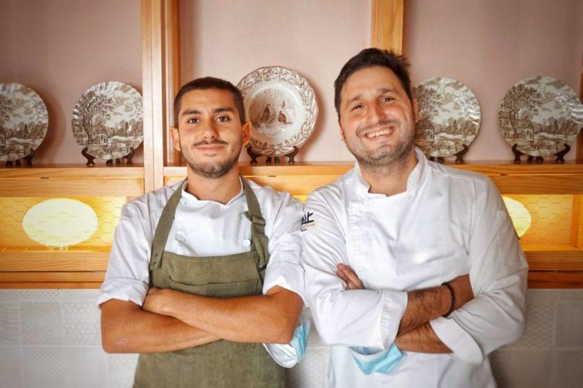 Javier Vargas y Javi Abascal. Foto cedida por el establecimiento
