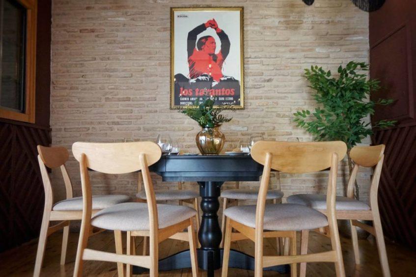 En el local no faltan los guiños al flamenco y la tradición. Foto cedida por el establecimiento