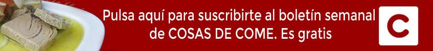 Pincha aquí para suscribirte a Cosasdecome Sevilla